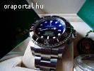 ÚJ  FULL KOMPLETT ROLEX Sea-Dweller Deepsea D-BLUE ELADÓ